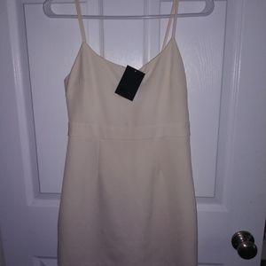 Never been worn little white dress !